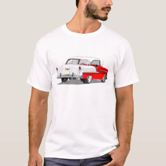 1955 Shoebox Shirt in Red and White