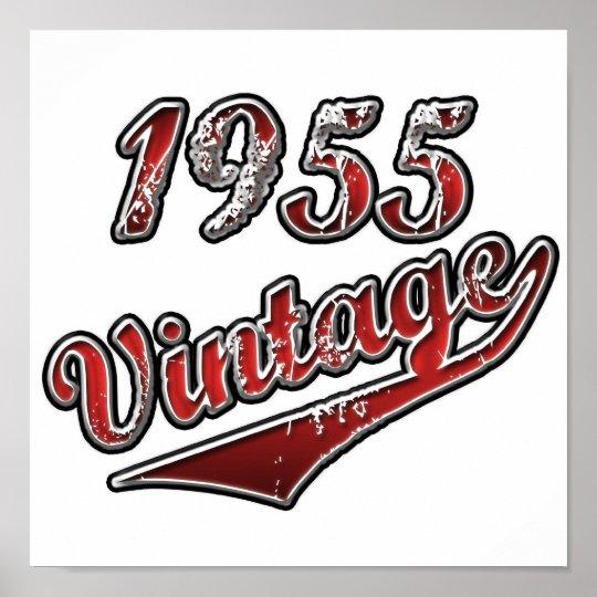 1955 Vintage Poster