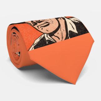 1955 Western bad guy print Tie