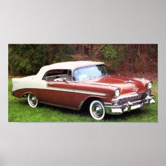 1956 Chevrolet Bel-Air Convertible Posters