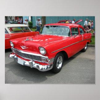 1956 Chevrolet Bel-Air Poster