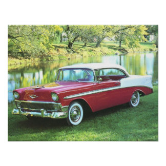 1956 Chevrolet Bel-Air Poster