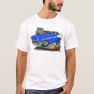 1956 Chevy Belair Blue Car T-Shirt