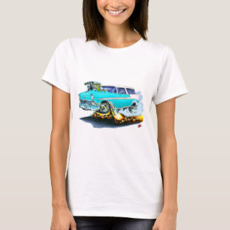 1956 Chevy Nomad Turquoise Car T-Shirt