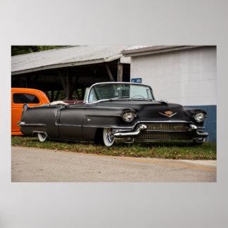 1956 Custom Cadillac Poster