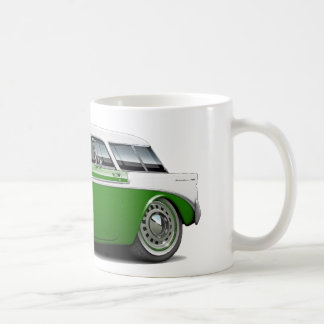 1956 Nomad Green-White Top Car Coffee Mug