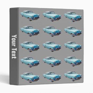 1956 Sedan Deville Cadillac Luxury Car Vinyl Binders
