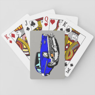 1956 Shoebox Playing Cards  in Blue