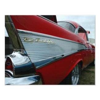 "1957 Bel Air 4.25"" X 5.5"" Invitation Card"
