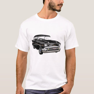1957 Bel Air in Black T-Shirt