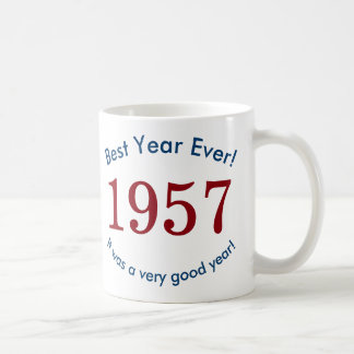 1957 ♥ Best Year Ever! 60th Birthday Gift Mug