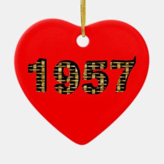 1957 CERAMIC ORNAMENT