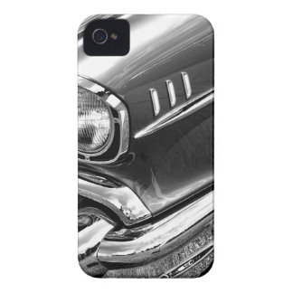 1957 Chevrolet Bel Air Black & White iPhone 4 Case
