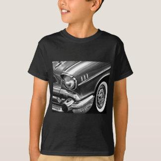 1957 Chevrolet Bel Air Black & White T-Shirt