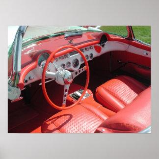 1957 Chevrolet Corvette Poster