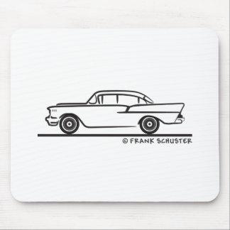 1957 Chevrolet Sedan Four Door 5-10 Mouse Pad