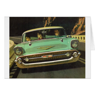 1957 Chevy Bel Air Card