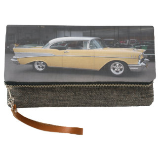 1957 Chevy Bel Air Chevrolet Classic Car Drive In Clutch