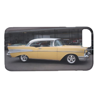 1957 Chevy Bel Air Chevrolet Classic Car Drive In iPhone 8/7 Case
