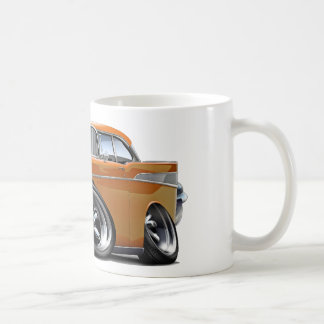 1957 Chevy Belair Orange Hot Rod Coffee Mug
