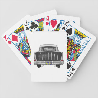 1957 Chevy Nomad Bicycle Playing Cards