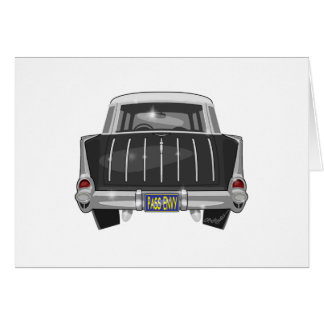 1957 Chevy Nomad Greeting Card