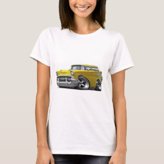 1957 Chevy Nomad Yellow Hot Rod T-Shirt