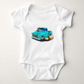1957 Chevy Pickup Turquoise Baby Bodysuit