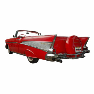 1957 Chevy Standing Photo Sculpture