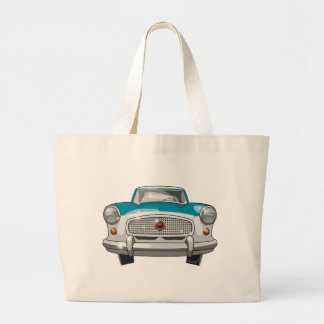 1957 Metropolitan Front Large Tote Bag