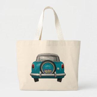 1957 Metropolitan Rear Large Tote Bag