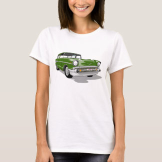 1957 Nomad in Green T-Shirt