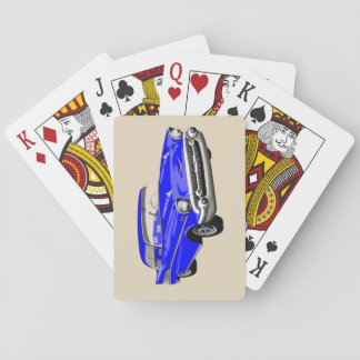 1957 Shoebox Playing Cards in Blue