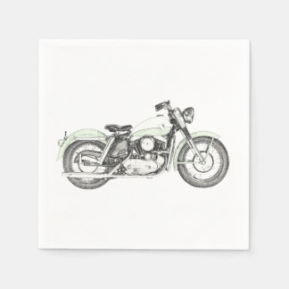 1957 Sportster Motorcycle Disposable Napkins