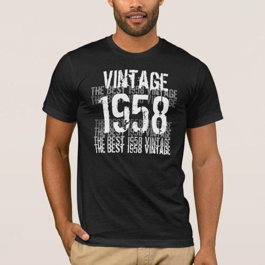 1958 Birthday Year - The Best 1958 Vintage T-Shirt