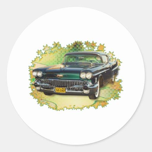1958 CADILLAC #2 STICKER