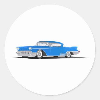 1958 Cadillac El Dorado Stickers