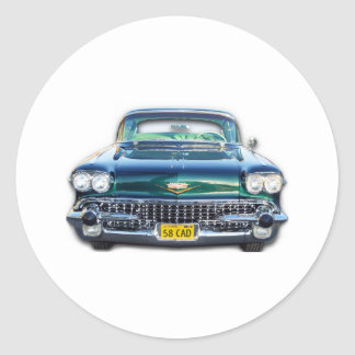 1958 CADILLAC STICKERS