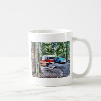 1958 Chevy Apache and 59/60 Shasta Airflyte Coffee Mug