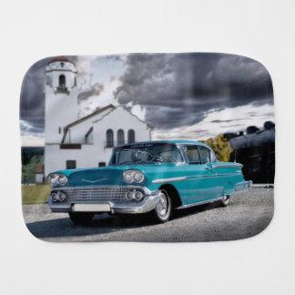1958 Chevy Bel Air Belair Chevrolet Classic Car Burp Cloth