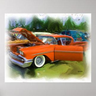 1958 Chevy Impala Poster