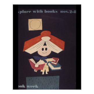 1958 Children's Book Week Poster