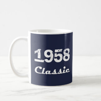 1958 Classic 60th Birthday Celebration Coffee Mug