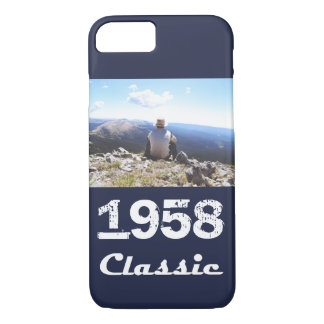 1958 Classic 60th Birthday Celebration iPhone 8/7 Case
