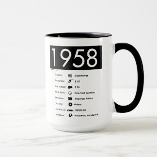 1958-Great Year (15 oz.) Coffee Mug
