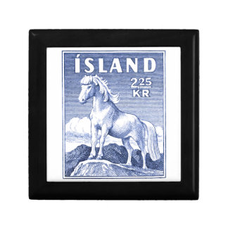1958 Icelandic Horse Postage Stamp Gift Box