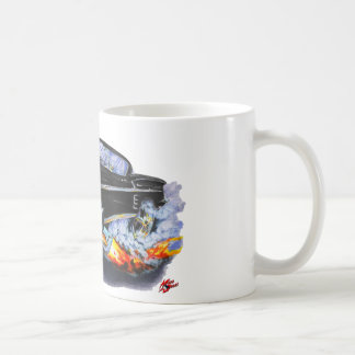 1958 Impala Black Car Coffee Mug