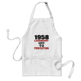 1958 LEGENDARY AGED TO PERFECTION STANDARD APRON