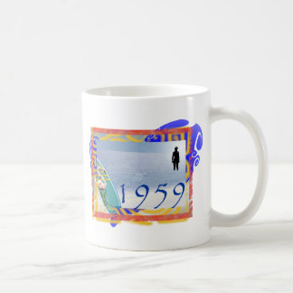 1959 beach coffee mug