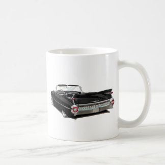 1959 Cadillac Black Car Coffee Mug